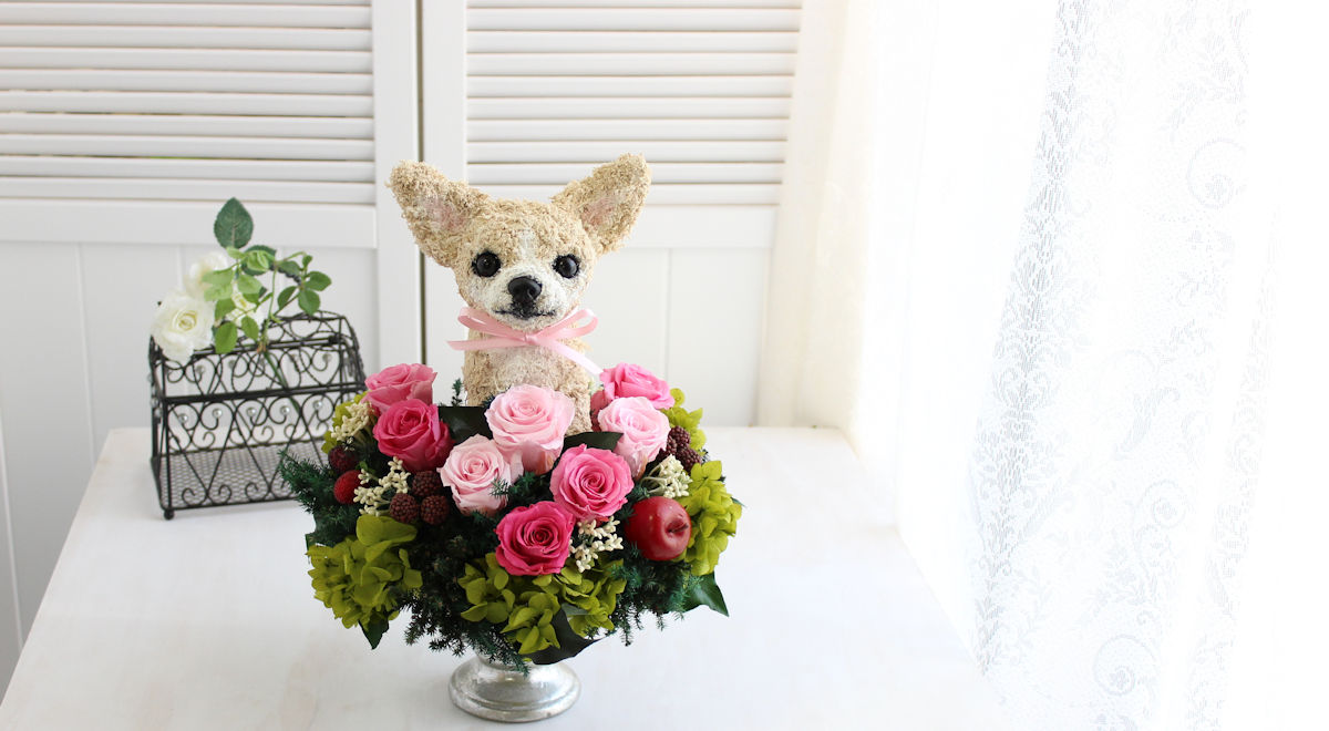 ペットサロン開店祝い,トリミングサロン開店祝い,ペットショップ開店祝い花ギフト販売