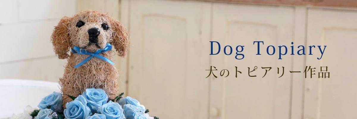 犬のトピアリー作品を探す