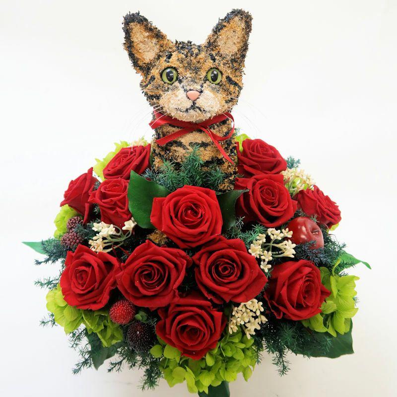 猫好きプレゼント キジトラ猫