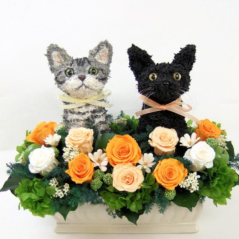 ウェルカムキャット 黒猫 アメリカンショートヘア